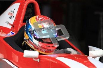 © Octane Photographic Ltd. 2012. Donington Park - General Test Day. Thursday 16th August 2012. Formula Renault BARC. Jacob Nortoft - Hillspeed. Digital Ref : 0458cb7d0161