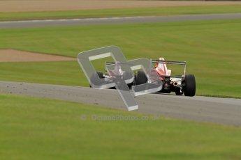 © Octane Photographic Ltd. 2012. Donington Park - General Test Day. Thursday 16th August 2012. Formula Renault BARC. Kieran Vernon - Hillspeed. Digital Ref : 0458cb7d0161
