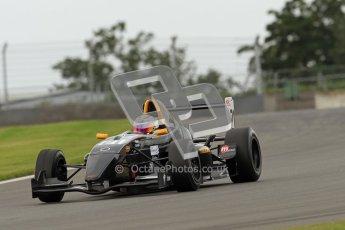 © Octane Photographic Ltd. 2012. Donington Park - General Test Day. Thursday 16th August 2012. Formula Renault BARC. Laura Tillett - Fortec Motorsports. Digital Ref : 0458cb7d0273