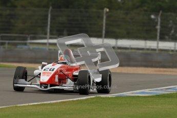 © Octane Photographic Ltd. 2012. Donington Park - General Test Day. Thursday 16th August 2012. Formula Renault BARC. Kieran Vernon - Hillspeed. Digital Ref : 0458cb7d0315