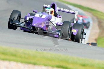 © Octane Photographic Ltd. 2012. Donington Park - General Test Day. Thursday 16th August 2012. Formula Renault BARC. Josh Webster - MGR Motorsport. Digital Ref : 0458ce1d0287