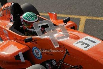 © Octane Photographic Ltd. 2012. Donington Park - General Test Day. Thursday 16th August 2012. Formula Renault BARC. Seb Morris - Fortec Motorsports. Digital Ref : 0458lw7d0029