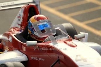 © Octane Photographic Ltd. 2012. Donington Park - General Test Day. Thursday 16th August 2012. Formula Renault BARC. Jacob Nortoft - Hillspeed. Digital Ref : 0458lw7d0135