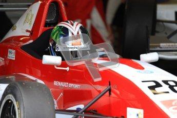 © Octane Photographic Ltd. 2012. Donington Park - General Test Day. Thursday 16th August 2012. Formula Renault BARC. Kieran Vernon - Hillspeed. Digital Ref : 0458lw7d0143