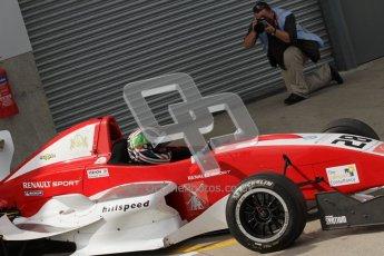 © Octane Photographic Ltd. 2012. Donington Park - General Test Day. Thursday 16th August 2012. Formula Renault BARC. Kieran Vernon - Hillspeed. Digital Ref : 0458lw7d0168