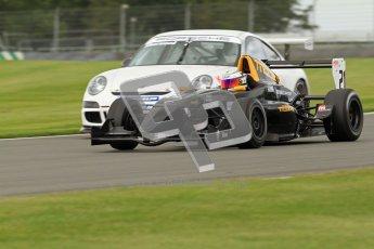 © Octane Photographic Ltd. 2012. Donington Park - General Test Day. Thursday 16th August 2012. Formula Renault BARC. Laura Tillett - Fortec Motorsports. Digital Ref : 0458lw7d0195