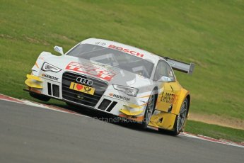 © Octane Photographic Ltd. 2012. DTM – Brands Hatch  - Friday Afternoon Practice. Timo Scheider - Audi A5 DTM - Audi Sport Team Abt Sportsline. Digital Ref :