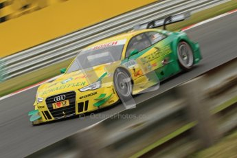 © Octane Photographic Ltd. 2012. DTM – Brands Hatch  - Friday Afternoon Practice. Mike Rockenfeller - Audi A5 DTM - Audi Sport Team Phoenix. Digital Ref :