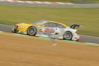 © Octane Photographic Ltd. 2012. DTM – Brands Hatch  - Friday Practice 1. Digital Ref : 0340cb7d2861