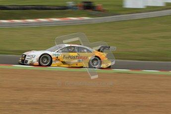 © Octane Photographic Ltd. 2012. DTM – Brands Hatch  - Friday Practice 1. Timo Scheider - Audi A5 DTM - Audi Sport Team Abt Sportsline. Digital Ref : 0340cb7d2896