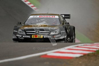 © Octane Photographic Ltd. 2012. DTM – Brands Hatch - Friday Practice 1. Gary Paffett - Mercedes AMG C-Coupe - Thomas Sabo Mercedes AMG. Digital Ref : 0340lw7d9730