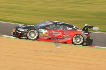 © Octane Photographic Ltd. 2012. DTM – Brands Hatch  - Saturday 19th May 2012. Edoardo Mortara - Playboy Audi A5 DTM - Audi Sport Team Rosberg. Digital Ref :