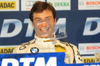 © Octane Photographic Ltd. 2012. DTM – Brands Hatch  - Saturday Press Conference. Bruno Spengler - BMW M3 DTM - BMW Team Schnitzer. Digital Ref :