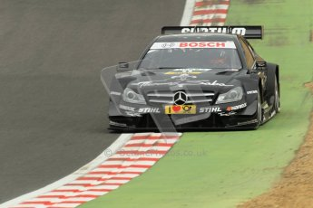 © Octane Photographic Ltd. 2012. DTM – Brands Hatch  - Race. Sunday 20th May 2012. Gary Paffett - Mercedes AMG C-Coupe - Thomas Sabo Mercedes AMG. Digital Ref :