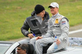 © Octane Photographic Ltd. 2012. DTM – Brands Hatch  - DTM Drivers' presentation. Sunday 20th May 2012. Digital Ref : 0348cb1d9463