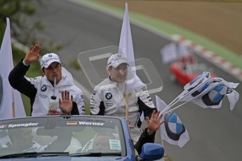© Octane Photographic Ltd. 2012. DTM – Brands Hatch  - Drivers Parade. Sunday 20th May 2012. Digital Ref : 0348lw7d5730
