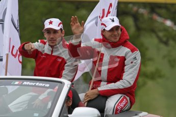 © Octane Photographic Ltd. 2012. DTM – Brands Hatch  - Drivers Parade. Sunday 20th May 2012. Digital Ref : 0348lw7d5850