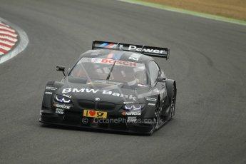© Octane Photographic Ltd. 2012. DTM – Brands Hatch  - DTM Warm up session. Sunday 20th May 2012. Bruno Spengler - BMW M3 DTM - BMW Team Schnitzer. Digital Ref :