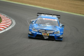 © Octane Photographic Ltd. 2012. DTM – Brands Hatch  - DTM Warm up session. Sunday 20th May 2012. Perrson Motorsport – Roberto Merhi. Digital Ref :