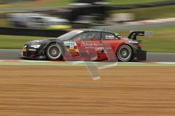 © Octane Photographic Ltd. 2012. DTM – Brands Hatch  - DTM Warm up session. Sunday 20th May 2012. Edoardo Mortara - Playboy Audi A5 DTM - Audi Sport Team Rosberg. Digital Ref :