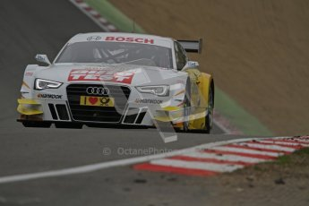 © Octane Photographic Ltd. 2012. DTM – Brands Hatch  - DTM Warm up session. Sunday 20th May 2012. Timo Scheider - Audi A5 DTM - Audi Sport Team Abt Sportsline. Digital Ref : 0347lw7d4959