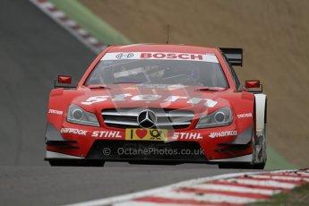 © Octane Photographic Ltd. 2012. DTM – Brands Hatch  - DTM Warm up session. Sunday 20th May 2012. Digital Ref : 0347lw7d5180