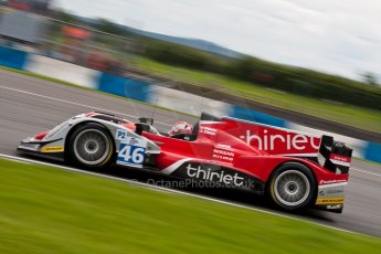 © Octane Photographic Ltd/ Chris Enion. European Le Mans Series. ELMS 6 Hours at Donington Park. Sunday 15th July 2012. Digital Ref: 409ce1d0046-2