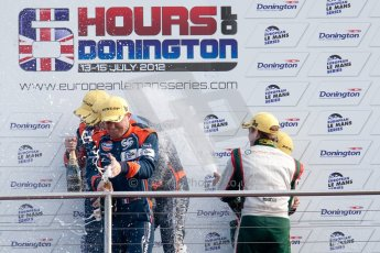 © Octane Photographic Ltd/ Chris Enion. European Le Mans Series. ELMS 6 Hours at Donington Park. Sunday 15th July 2012. Digital Ref: 409ce1d0064