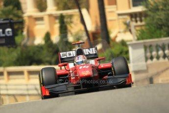 © Octane Photographic Ltd. 2012. F1 Monte Carlo - GP2 Practice 1. Thursday  24th May 2012. Stefano Coletti - Scuderia Coloni. Digital Ref : 0353cb1d0715