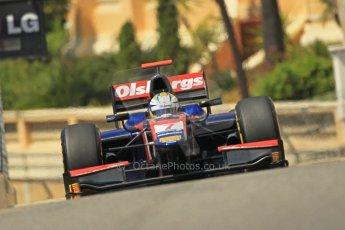© Octane Photographic Ltd. 2012. F1 Monte Carlo - GP2 Practice 1. Thursday  24th May 2012. Marcus Ericsson - iSport International. Digital Ref : 0353cb1d0777