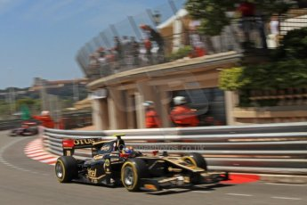 © Octane Photographic Ltd. 2012. F1 Monte Carlo - GP2 Practice 1. Thursday  24th May 2012. Esteban Gutierrez - Lotus GP. Digital Ref : 0353cb7d7627