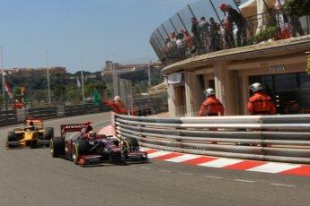 © Octane Photographic Ltd. 2012. F1 Monte Carlo - GP2 Practice 1. Thursday  24th May 2012. Fabrizio Crestani - Venezula GP Lazarus. Digital Ref : 0353cb7d7629