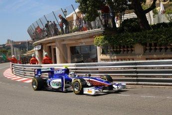 © Octane Photographic Ltd. 2012. F1 Monte Carlo - GP2 Practice 1. Thursday  24th May 2012. Julian Leal - Trident Racing. Digital Ref : 0353cb7d7634
