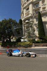 © Octane Photographic Ltd. 2012. F1 Monte Carlo - GP2 Practice 1. Thursday  24th May 2012. Johnny Cecotto Jr. - Barwa Addax Team. Digital Ref : 0353cb7d7694