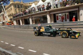 © Octane Photographic Ltd. 2012. F1 Monte Carlo - GP2 Practice 1. Thursday  24th May 2012. Giedo van der Garde - Caterham Racing. Digital Ref : 0353cb7d7703