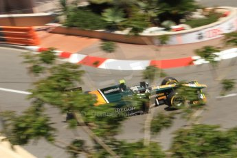 © Octane Photographic Ltd. 2012. F1 Monte Carlo - GP2 Practice 1. Thursday  24th May 2012. Giedo van der Garde - Caterham Racing. Digital Ref : 0353cb7d7768