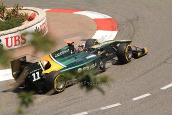 © Octane Photographic Ltd. 2012. F1 Monte Carlo - GP2 Practice 1. Thursday  24th May 2012. Rodolfo Gonzales - Caterham Racing. Digital Ref : 0353cb7d7792