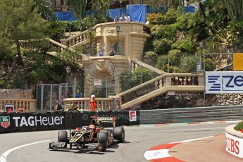 © Octane Photographic Ltd. 2012. F1 Monte Carlo - GP2 Practice 1. Thursday  24th May 2012. James Calado - Lotus GP. Digital Ref : 0353cb7d7877