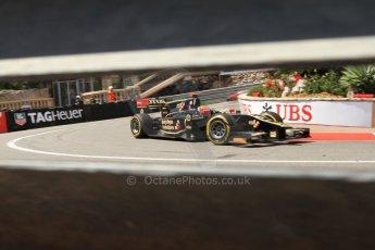 © Octane Photographic Ltd. 2012. F1 Monte Carlo - GP2 Practice 1. Thursday  24th May 2012. James Calado - Lotus GP. Digital Ref : 0353cb7d7921