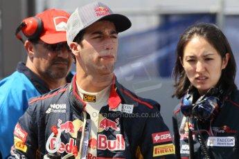 © Octane Photographic Ltd. 2012. F1 Monte Carlo - Qualifying - Session 3. Saturday 26th May 2012. Daniel Ricciardo - Toro Rosso. Digital Ref : 0355cb1d6734