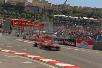 © Octane Photographic Ltd. 2012. F1 Monte Carlo - Qualifying - Session 2. Saturday 26th May 2012. Felipe Massa - Ferrari. Digital Ref : 0355cb7d8862