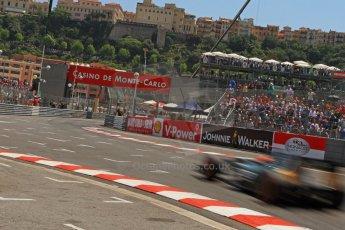 © Octane Photographic Ltd. 2012. F1 Monte Carlo - Qualifying - Session 2. Saturday 26th May 2012. Heikki Kovalainen - Caterham. Digital Ref : 0355cb7d8863