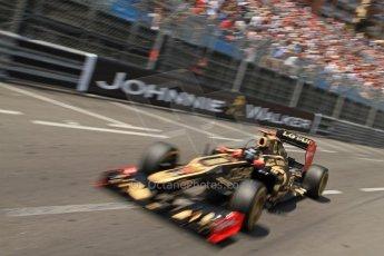© Octane Photographic Ltd. 2012. F1 Monte Carlo - Qualifying - Session 2. Saturday 26th May 2012. Kimi Raikkonen - Lotus. Digital Ref : 0355cb7d8872