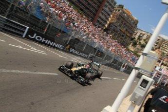 © Octane Photographic Ltd. 2012. F1 Monte Carlo - Qualifying - Session 2. Saturday 26th May 2012. Heikki Kovalainen - Caterham. Digital Ref : 0355cb7d8880