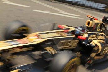 © Octane Photographic Ltd. 2012. F1 Monte Carlo - Qualifying - Session 2. Saturday 26th May 2012. Kimi Raikkonen - Lotus. Digital Ref : 0355cb7d8894