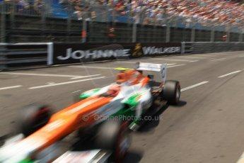 © Octane Photographic Ltd. 2012. F1 Monte Carlo - Qualifying - Session 2. Saturday 26th May 2012. Nico Hulkenberg - Force India. Digital Ref : 0355cb7d8906