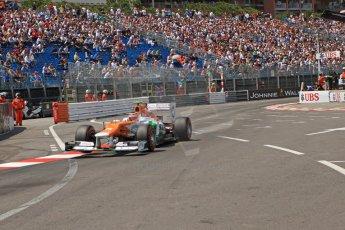 © Octane Photographic Ltd. 2012. F1 Monte Carlo - Qualifying - Session 2. Saturday 26th May 2012. Nico Hulkenberg - Force India. Digital Ref : 0355cb7d8920