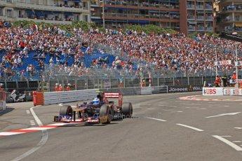 © Octane Photographic Ltd. 2012. F1 Monte Carlo - Qualifying - Session 2. Saturday 26th May 2012. Jean-Eric Vergne - Toro Rosso. Digital Ref : 0355cb7d8928
