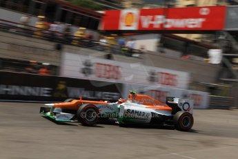 © Octane Photographic Ltd. 2012. F1 Monte Carlo - Qualifying - Session 2. Saturday 26th May 2012. Nico Hulkenberg - Force India. Digital Ref : 0355cb7d8958