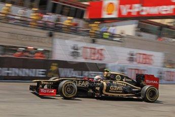 © Octane Photographic Ltd. 2012. F1 Monte Carlo - Qualifying - Sesson 2. Saturday 26th May 2012. Romain Grosjean - Lotus. Digital Ref : 0355cb7d8970i